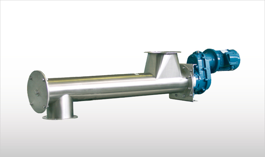 Minimum Residue Tubular Screw Feeders
